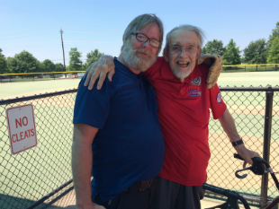 Miracle League of Montgomery County MD's Jim Leder, President and Sean Ryan, League Director